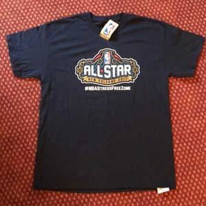 🏀 NBA 2017 All-Star New Orleans Tee